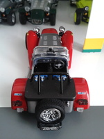 KYOSHO - Caterham Super Seven RED N°03151R - 4